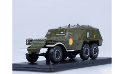 БТР-152К (хаки), масштабная модель, Start Scale Models (SSM), scale43