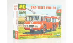 Сборная модель ЗИЛ-SIDES VMA-30, сборная модель автомобиля, Автомобиль в деталях (by SSM), scale43