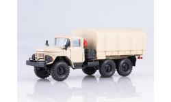 ЗИЛ 131 с тентом (песочный), масштабная модель, Элекон, scale43