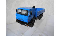 КАМАЗ 43118 6х6 бортовой, синий Start Scale Models (SSM)