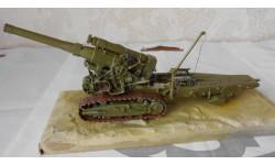 1:35 Б-4 ГАУБИЦА БОЛЬШОЙ МОЩНОСТИ  203-мм ОБРАЗЦА 1931г., сборные модели артиллерии, 1/35, Самоделка