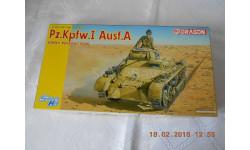 1:35 Танк Pz. Kpfw. I  Ausf. A   Германия  образца 1941 года.