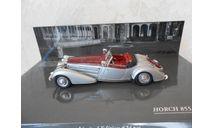Модель автомобиля 1:43 Horch 855 Special Roadster 1938 Silver- Red. Minichamps, масштабная модель, scale43