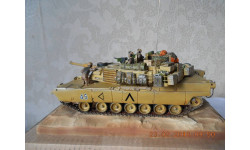 Основной боевой танк М1А1 « Абрамс»  США., сборные модели бронетехники, танков, бтт, 1:35, 1/35, САМОДЕЛКА.