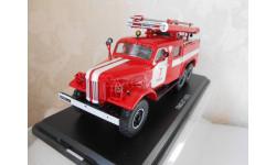 Автомобиль пожарный ЗИЛ-157 ПМЗ-27 Томск от SSM. Масштаб 1:43.