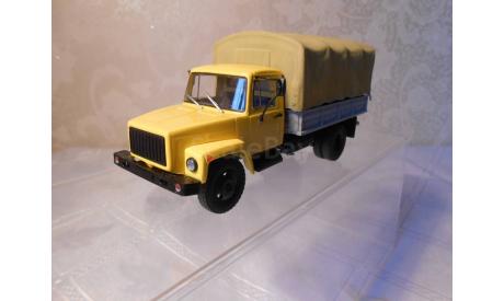 ГАЗ  - 33073  грузовое такси  Автоистория (АИст), масштабная модель, scale43