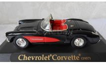 CHEVROLET CORVETTE (1957)  1:43  Signature Металл., масштабная модель, scale43
