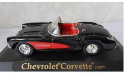 CHEVROLET  CORVETTE  (1957), масштабная модель, 1:43, 1/43, Yat Ming
