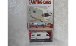 1/43  LE  MAILLET  ERIC 3  SUR  PEUGEOT  J7 - Hachette №5 Camping-cars