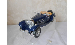 1: 20  Mercedes-Benz  500 K  Roadster  ( 1936 )    Burago. МЕТАЛЛ. made in Italy