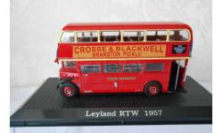 Автобусы специальный выпуск,ограниченная серия  LEYLAND  RTW  1957., масштабная модель, 1:72, 1/72, Atlas
