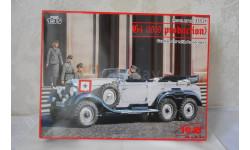 1 : 35  МЕРСЕДЕС  G4  1939года с фигурками.   ICM  КИТ, сборная модель автомобиля, 1:35, 1/35, Mercedes-Benz