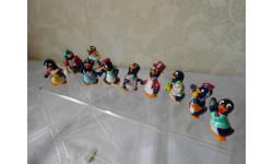 Пингвины Свадьба 1994 год, серия фигур из киндер-сюрприза Ferrero