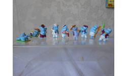 Бегемоты на отдыхе Палубные 1992 год, серия фигур из киндер-сюрприза Ferrero