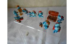 Акулы 1995 год, серия фигур из киндер-сюрприза Ferrero
