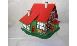 Здания и сооружения для макета 1:87 16,5 HO Деревенский жилой дом с фигуркой.фирмы FALLER