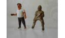 Рыцари на коне металл пластмасса 3 штуки одним лотом  1992 год, серия фигур из киндер-сюрприза Ferre, фигурка, scale0
