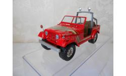 модель 1/24  JEEP  WRANGLER  SJ-7 Burago  металл Made in ITALY, масштабная модель, 1:24