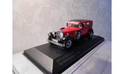 MERCEDES-BENZ Typ 460 N Nurburg 1929 RedBlack  WhiteBox, масштабная модель, 1:43, 1/43