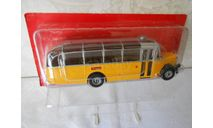 SAURER L4C SWITZERLAND 1959 Yellow/Silver 1:43 Altaya Bus Collection, масштабная модель, Hachette, scale43