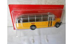 SAURER L4C SWITZERLAND 1959 Yellow/Silver 1:43 Altaya Bus Collection