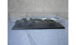 DiP Models. 1/43 ЗИЛ-157КВ + ТЗМ-ПР11А с ракетой 20ДСУ хаки / серая в боксе SSM