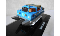 Модель автомобиля 1:43 ЗиЛ-29061 шнекороторный снегоболото ход DiP Models