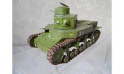 1/35  модель советского двухбашенного танка Т-24 образца 1930 года ХПЗ