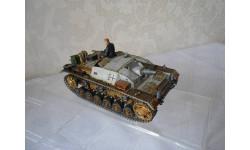 Модель немецкого  штурмовое орудие штурмгешутц 1:35 STUG  III  AUSF B