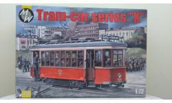 Сборная модель Трамвая в масштабе 1:72. Раритет., сборная модель (другое)