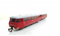 Автомотриса ТТ 1:120 ГДР 2 вагона (рельсовый Автобус), железнодорожная модель, 1/120