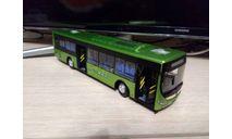Автобус Ютонг Е12, масштабная модель, Yutong, scale43