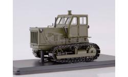 трактор ЧТЗ 100 1965 СССР металлические траки (хаки) SSM 1:43 SSM3022, масштабная модель, 1/43, Start Scale Models (SSM)