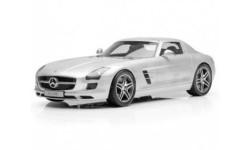 Мерседес Бенц Mercedes Benz SLS AMG C197 Silver metallic Premium Classixxs 1:12 10600, масштабная модель, Mercedes-Benz, scale12