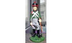 фигурка солдат Рядовой 2-го Пионерного полка в походной форме 1812 г № 15 Наполеоновские войны 1:32, фигурка, scale32