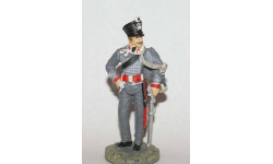 фигурка солдат Рядовой 1-го Лейб-гусарского прусского полка 1815 г № 36 Наполеоновские войны 1:32, фигурка, scale32