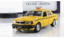 Газ 3110 Волга Такси IST IXO Автомобиль на службе 1:43, масштабная модель, Автомобиль на службе, журнал от Deagostini, scale43