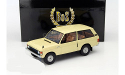 RANGE ROVER Suffix A 4х4 1970 BoS Best of Show 1:18 18166