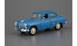 Москвич 407 АЗЛК 1958 - 1963 гг. ярко-синий IXO IST Автолегенды СССР 1:43