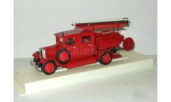 Зис 5 Двухкабинный Пожарный СССР Ломо 1 43