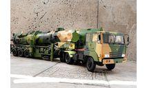 Dongfeng 21 комплекс межконтинентальная ракета Китай Paudi 1:28 Китай Paudi 1:28, масштабная модель, scale30, Paudi Models