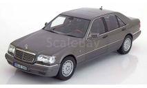 лимузин Мерседес Бенц Mercedes Benz S600 V12 W140 1997 Norev 1:18 Спецсерия Выпуск прекращен, масштабная модель, 1/18, Mercedes-Benz