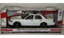 Форд Ford Crown Victoria Police Interceptor 2014 Greenlight 1:18, масштабная модель, 1/18, Greenlight Collectibles