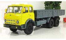МАЗ 514 бортовой, желтый/голубой 1969 СССР НАП Наш Автопром 1:43 H299, масштабная модель, scale43