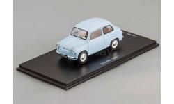 ЗАЗ 965 Запорожец 1960 г. (светло-голубой) Dip 1:43 196501, масштабная модель, 1/43, DiP Models