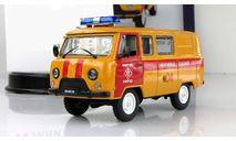 Уаз 3909 (452 В) 4х4 Аварийная Газовая служба России IXO IST Автомобиль на Службе 1:43, масштабная модель, scale43, Автомобиль на службе, журнал от Deagostini