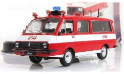 Раф 2203 22034 АШ Пожарный 1976 СССР IST IXO Автомобиль на Службе 1:43, масштабная модель, Автолегенды СССР журнал от DeAgostini, scale43