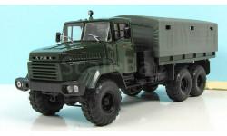 КрАЗ 260 бортовой с тентом (1989-94), зеленый СССР НАП Наш Автопром 1:43 H291gr, масштабная модель, scale43