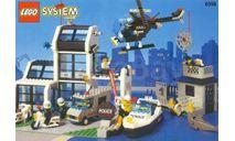 Большой набор Конструктор Лего Полицейский участок Police station Lego 6598 1995 год Раритет 100 % Оригинал, масштабная модель, scale43