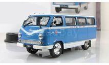 Раф 977 ДМ Маршрутное такси 1979 СССР IXO IST Автомобиль на службе 1:43, масштабная модель, 1/43, Автомобиль на службе, журнал от Deagostini